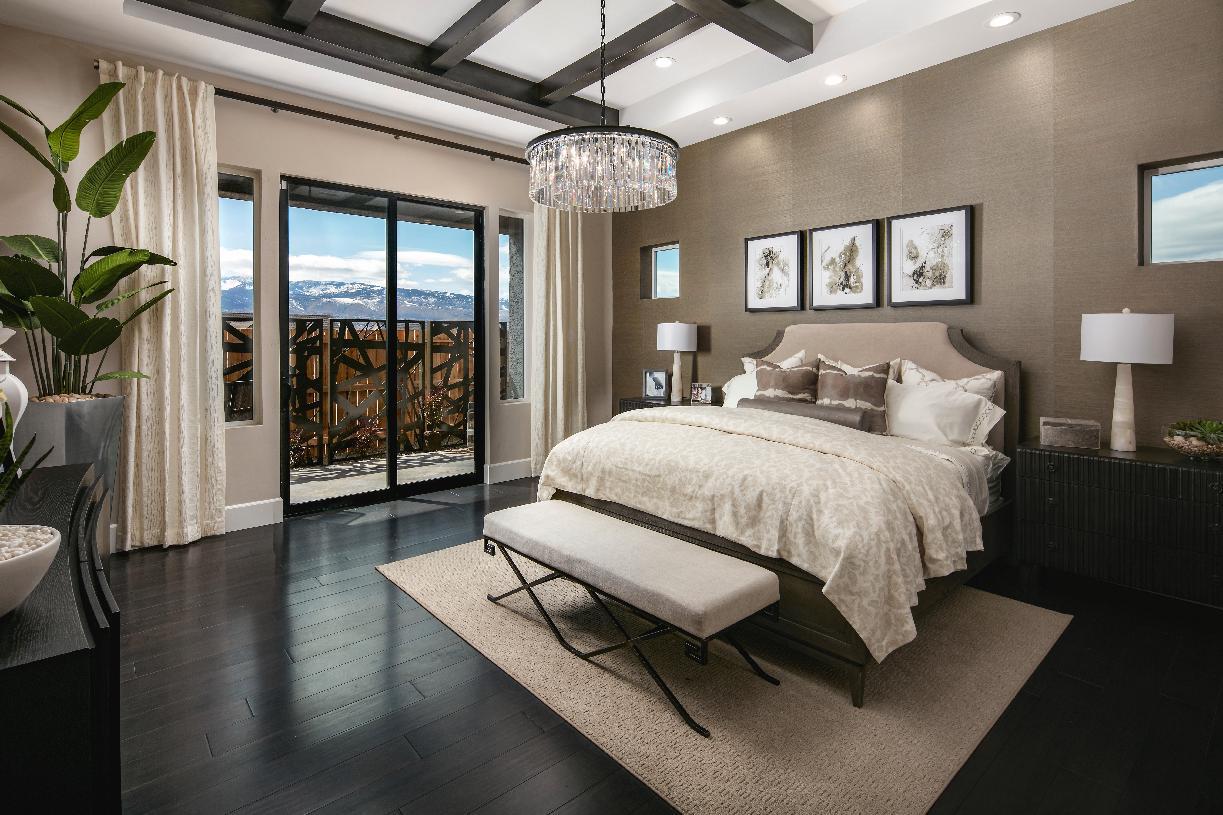 Relaxing primary bedroom suite