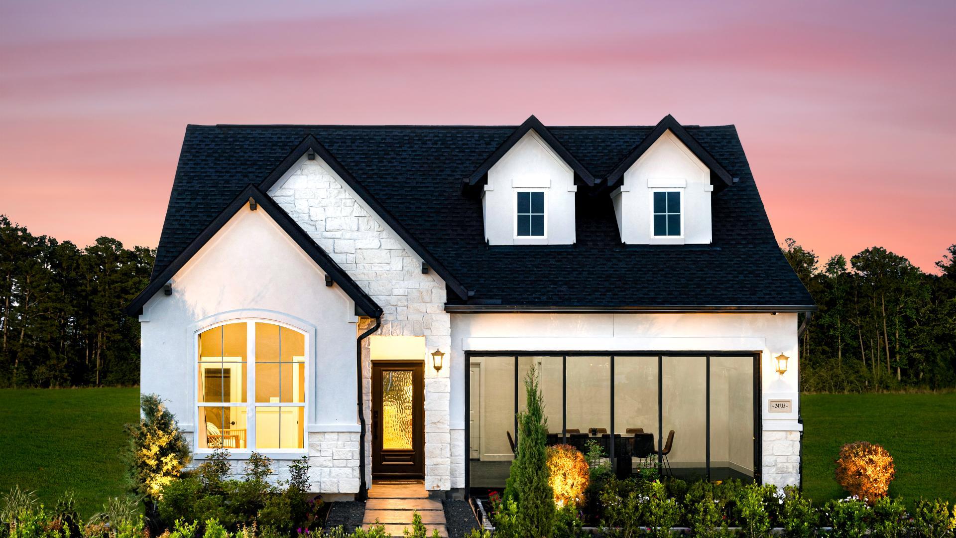 Angelo High Plains Model Home at Lakes at Creekside