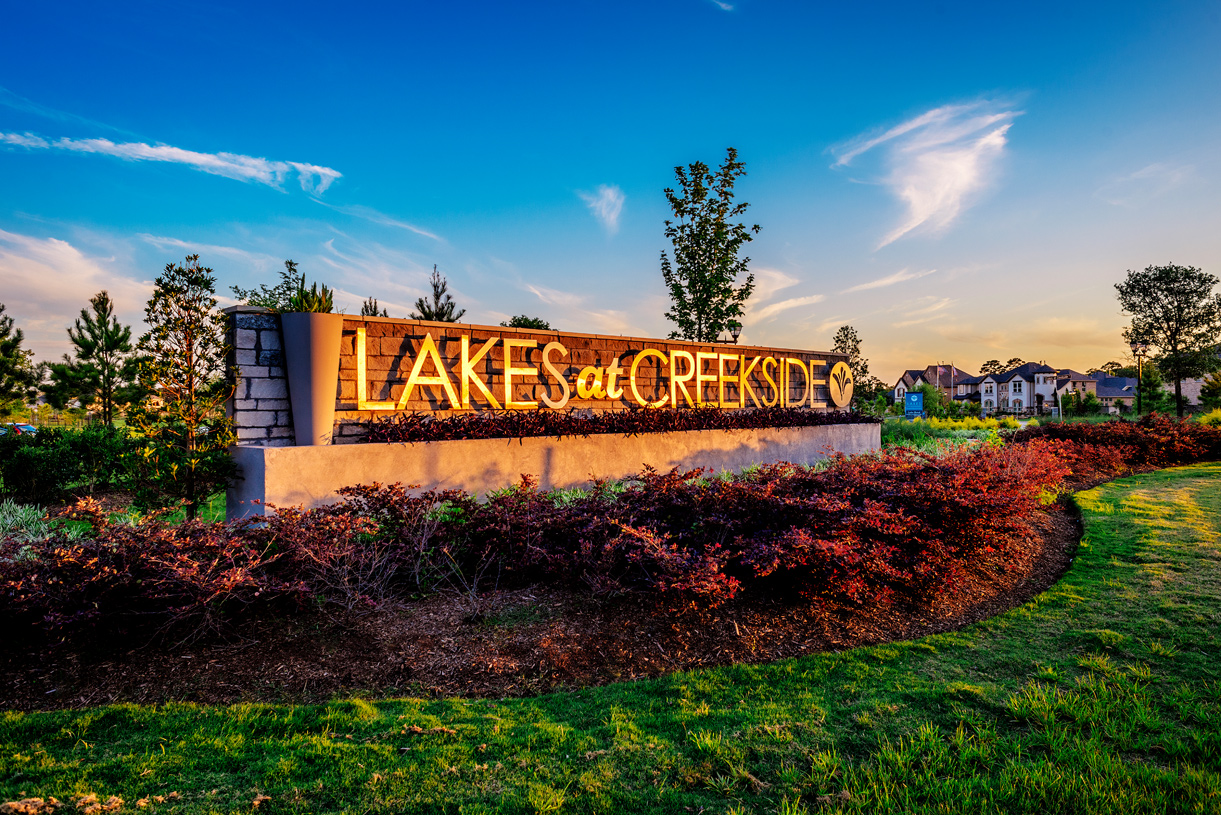 Welcome home to Lakes at Creekside - Tomball, Texas