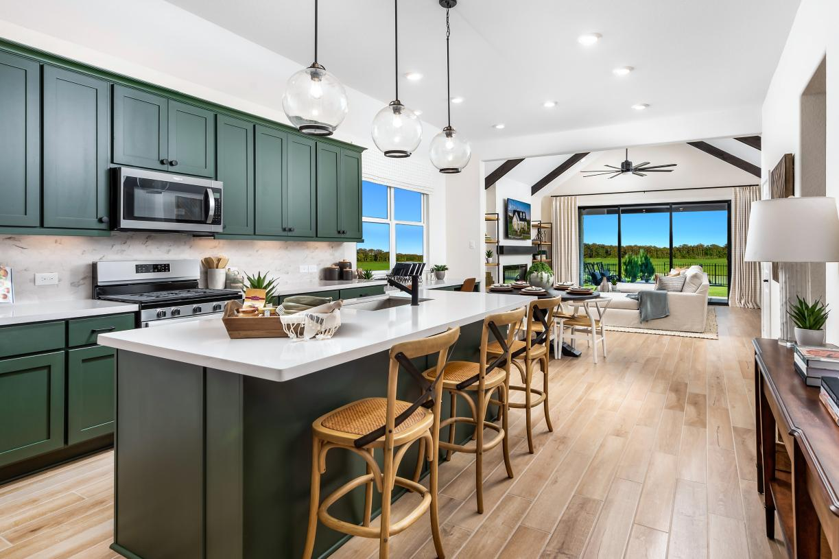 Angelo's expansive gourmet kitchen