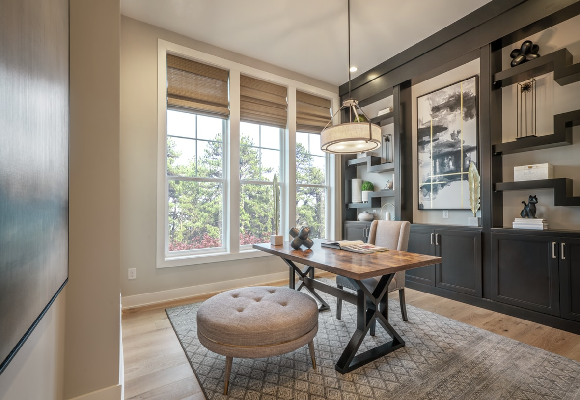Flex spaces ideal for a home office