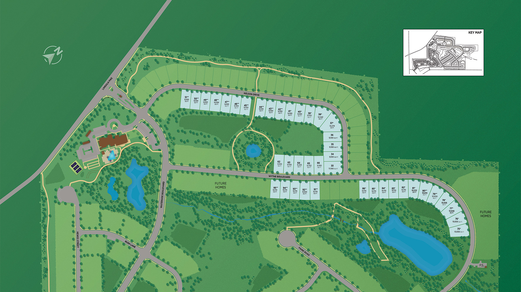 Regency at Waterside - Union Collection Site Plan