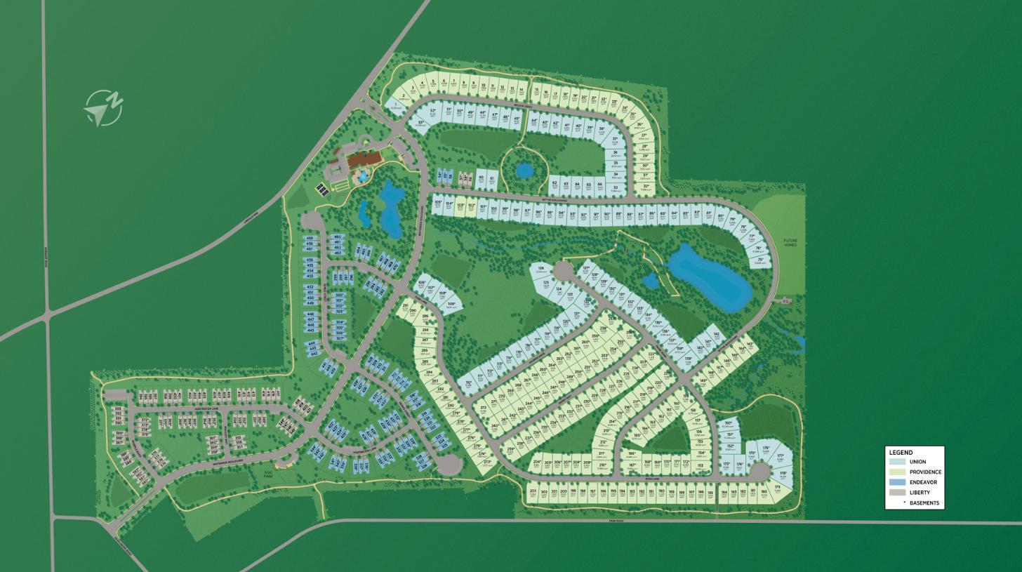 Regency at Waterside Overall Site Plan