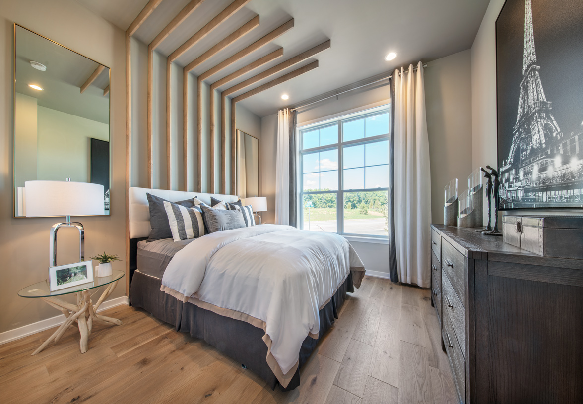 Secondary bedrooms perfect for family and guests