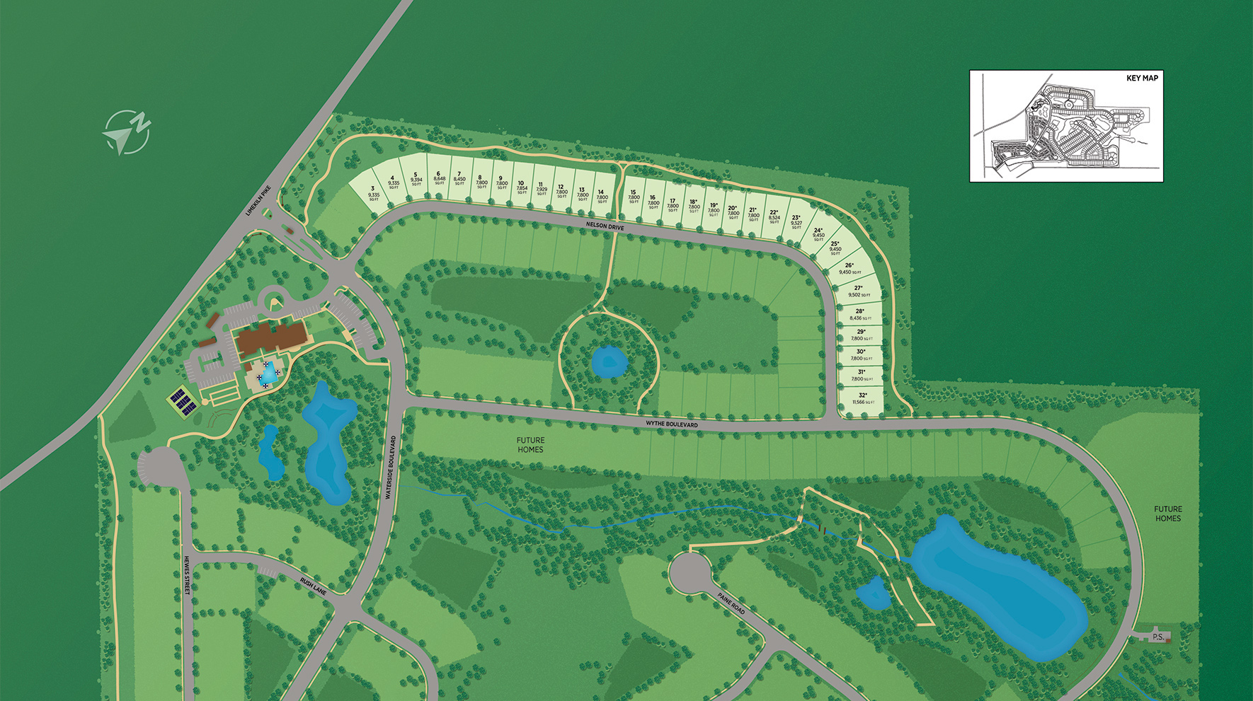 Regency at Waterside - Providence Collection Site Plan