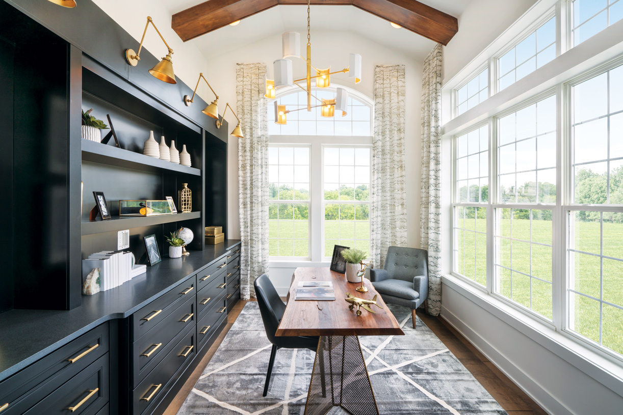 Flex spaces that can be used as a home office