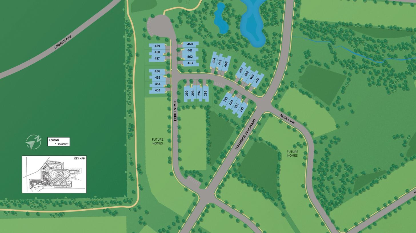 Regency at Waterside - Endeavor Collection Site Plan