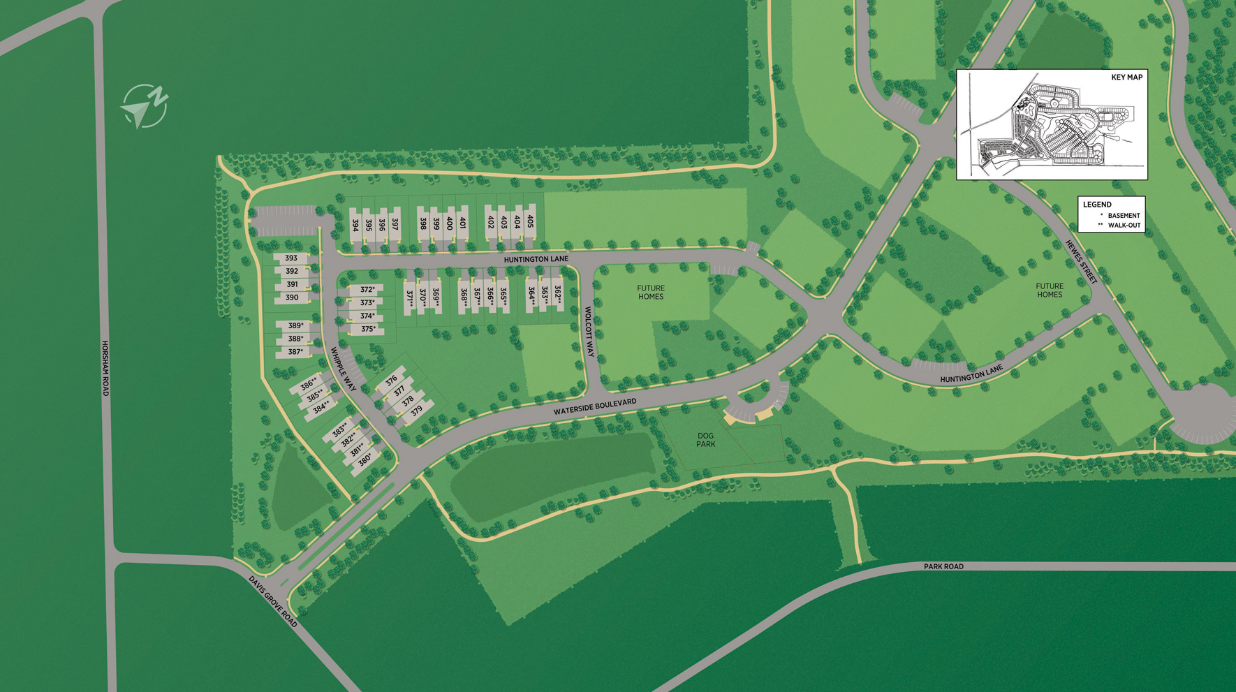 Regency at Waterside - Liberty Collection Site Plan