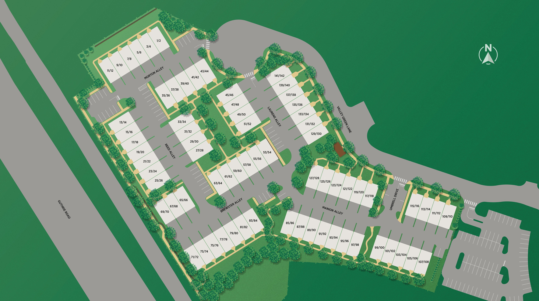 Overlook At Town Center - Site Plan