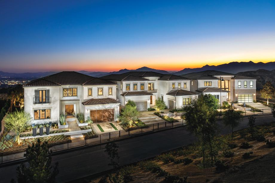 Toll Brothers - Westcliffe at Porter Ranch - Skyline Collection Photo