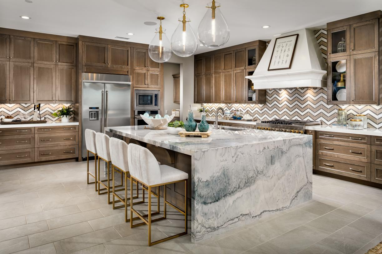 Well appointed kitchens
