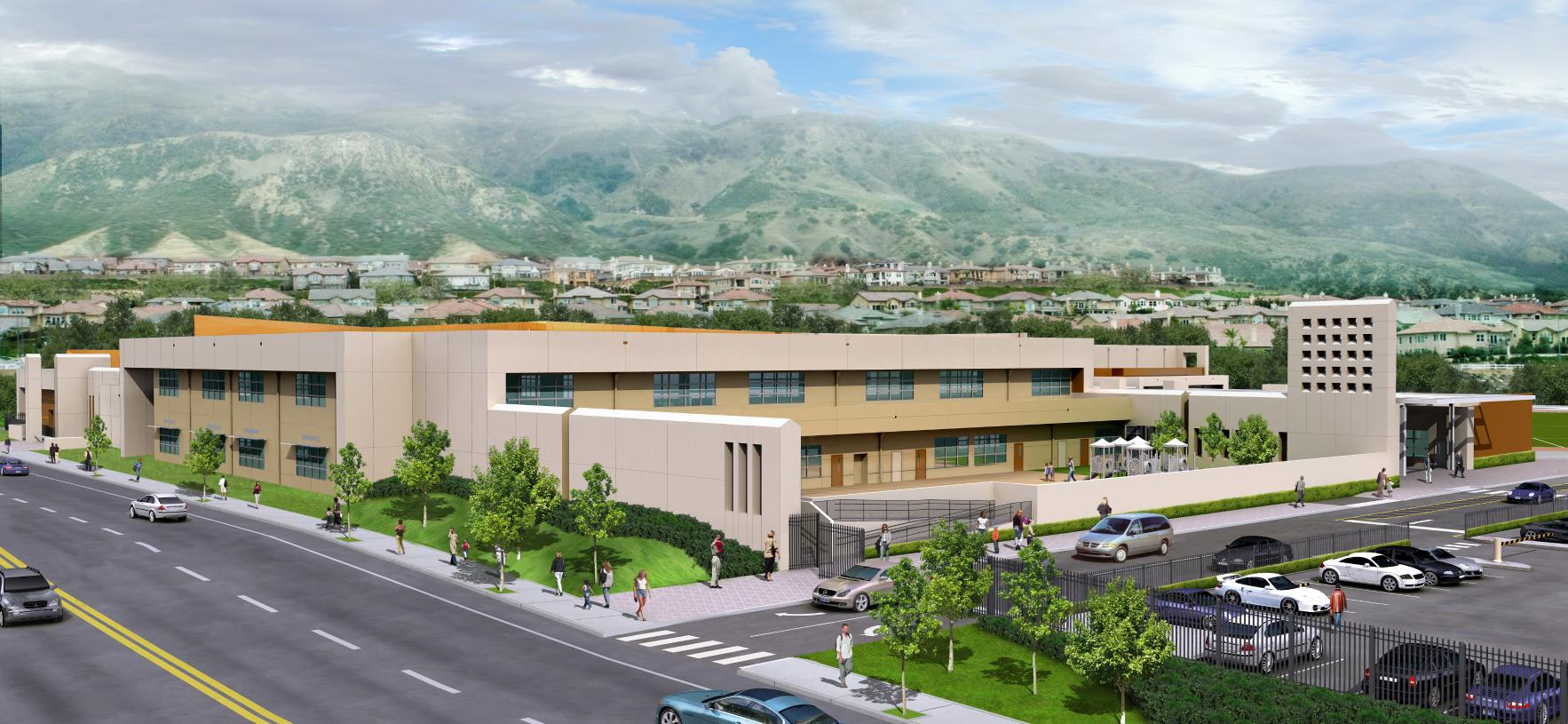 Top-rated and well-respected Porter Ranch K-8 Community School