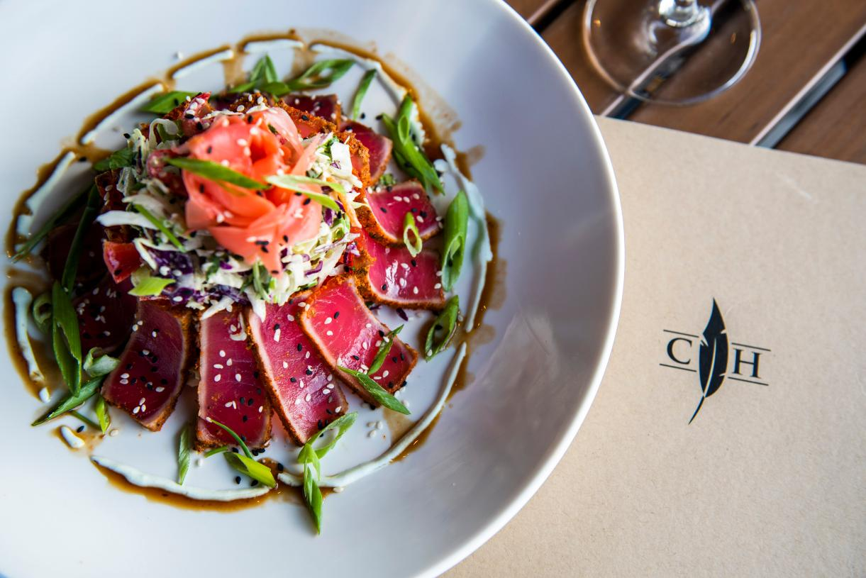 Enjoy delicious food and wine at Cooper's Hawk