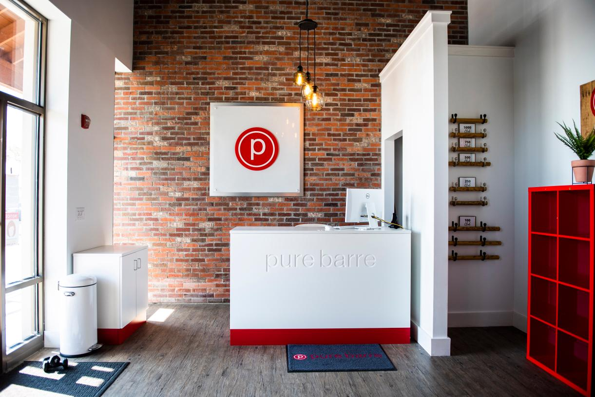 Workout at Pure Barre