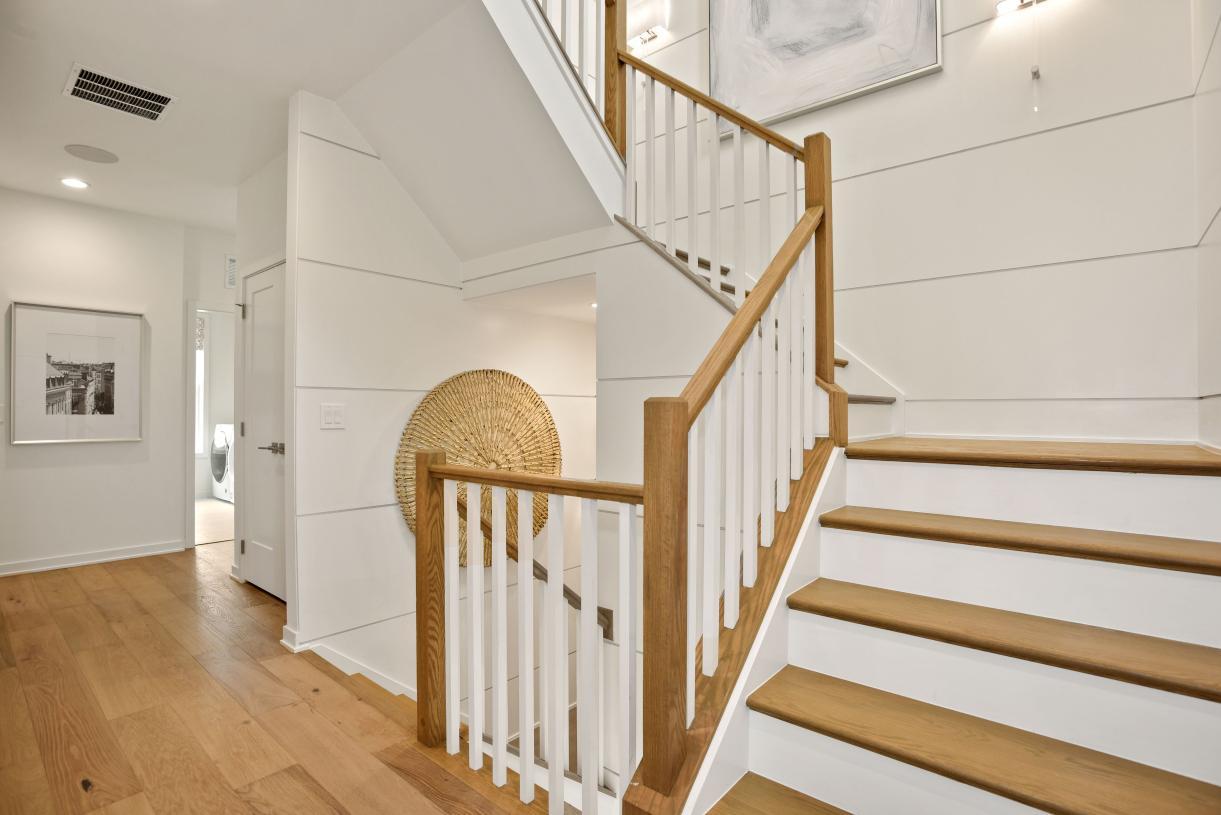 Impressive oak staircases