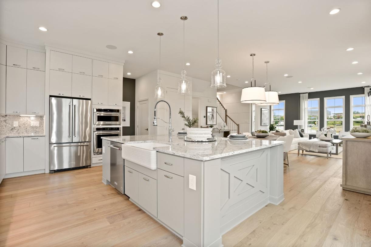 Amazing open-concept living level