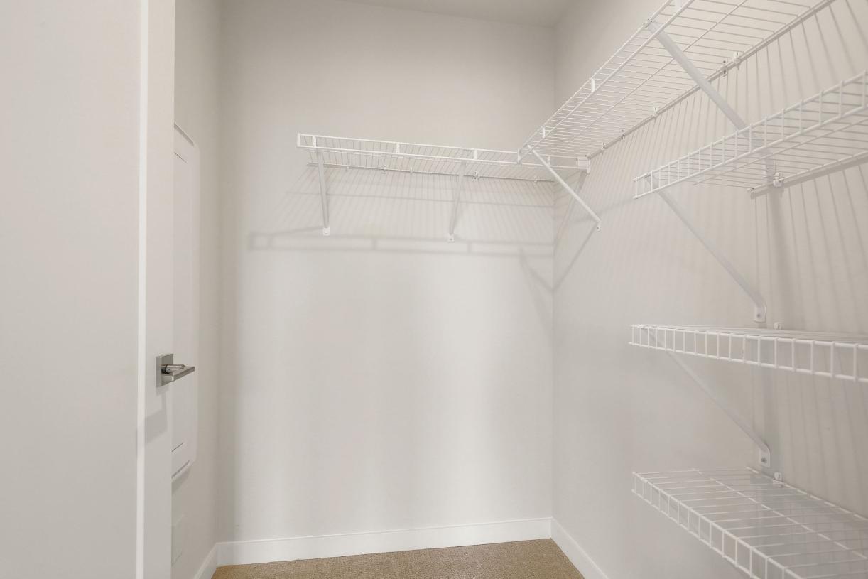 1st floor bed walk-in closet
