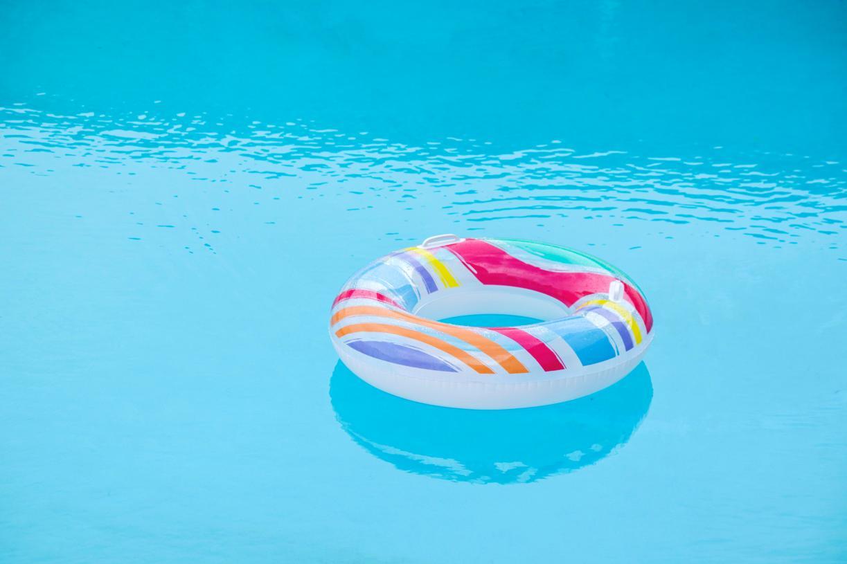 Enjoy the community pool