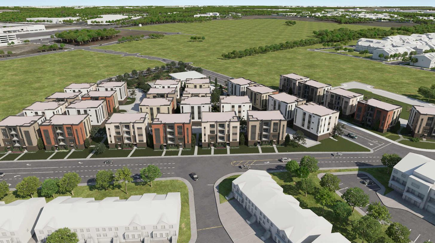 Metro Walk at Moorefield Station - Flats Site Plan
