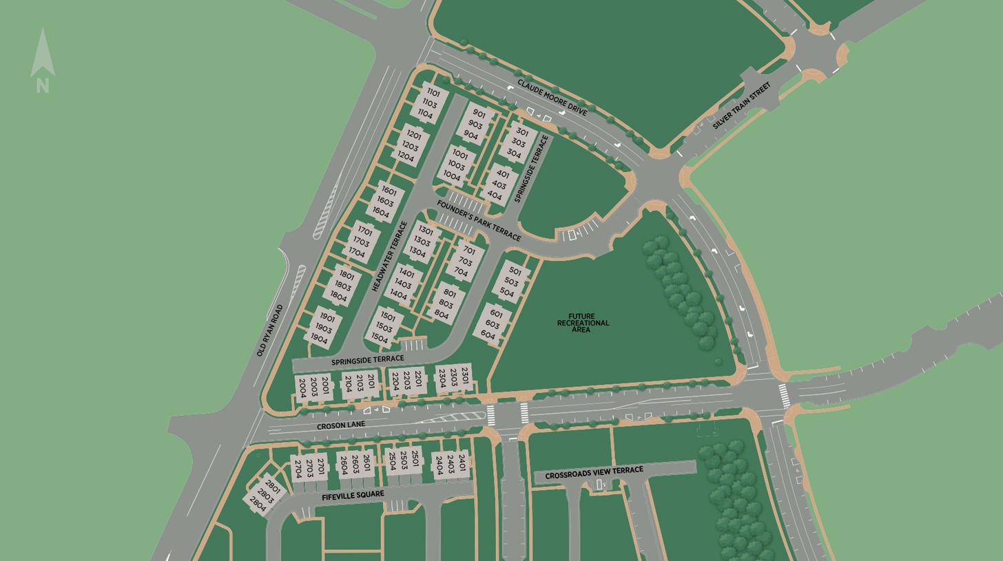 Metro Walk at Moorefield Station - Flats Site Plan I