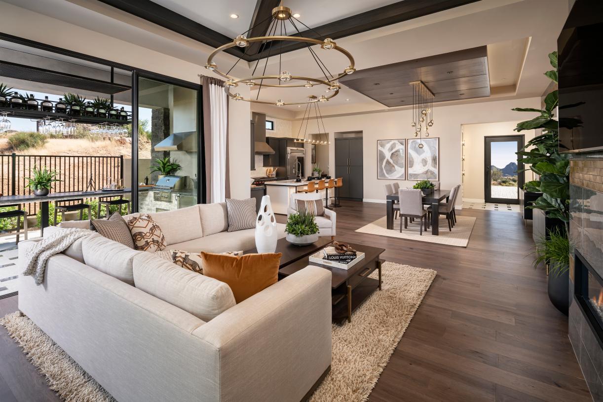 Open-concept floor plan, perfect for entertaining