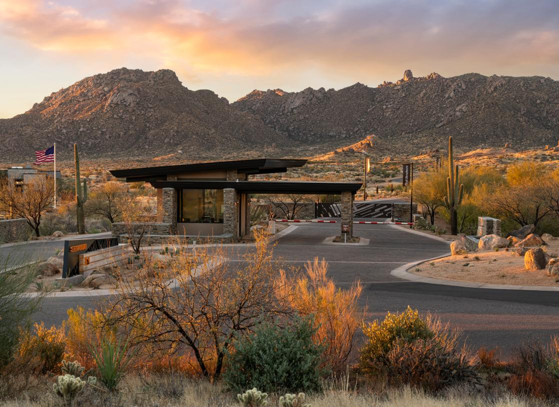 Private staff-gated community in North Scottsdale