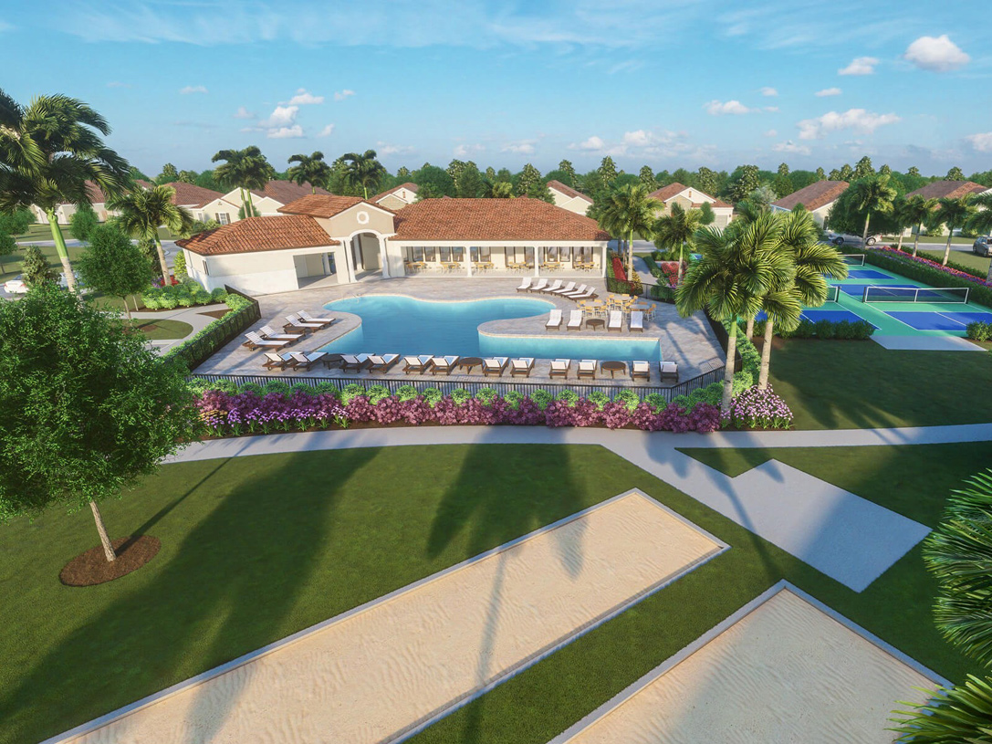 Enjoy resort-style living just steps from your home
