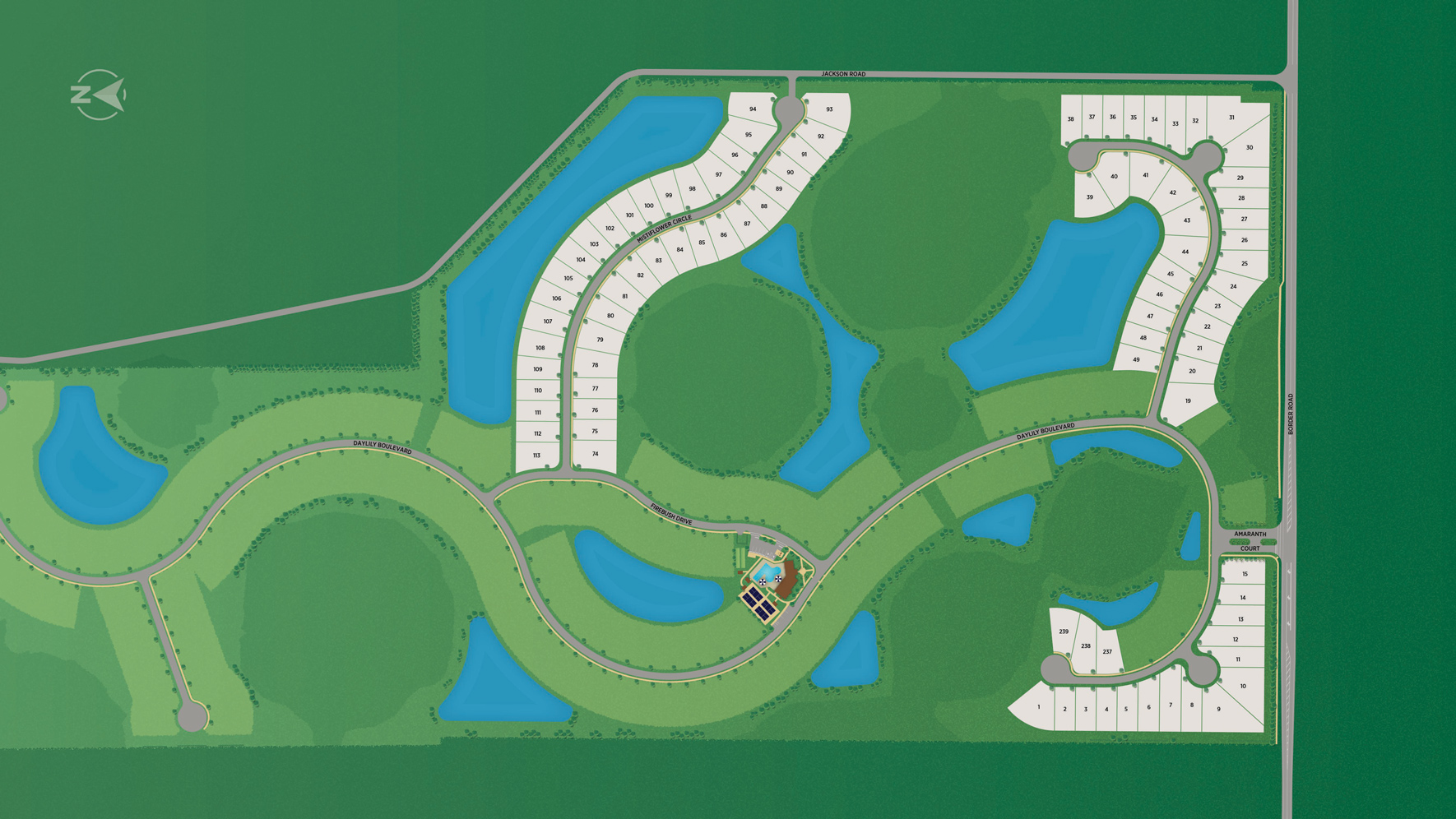 Toll Brothers at Venice Woodlands Site Plan I