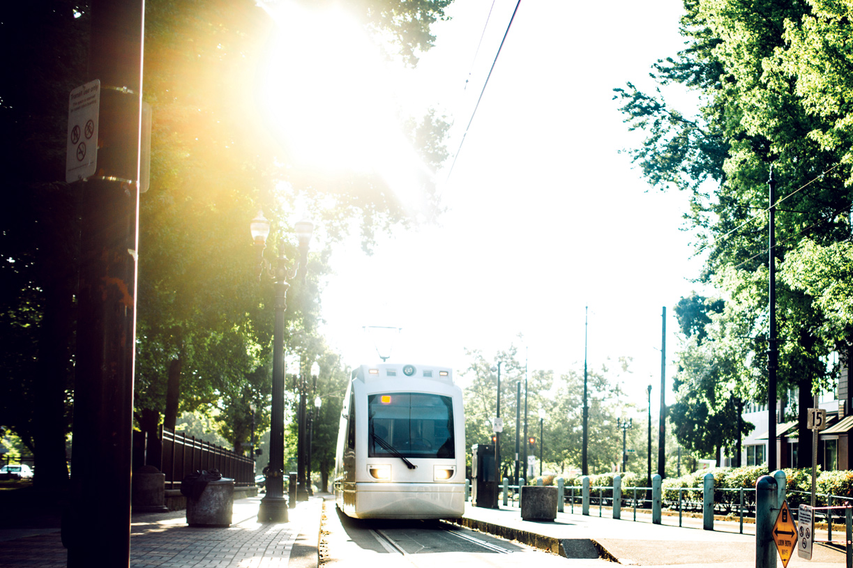 Quick access to the Sunset Transit Center and MAX Light Rail