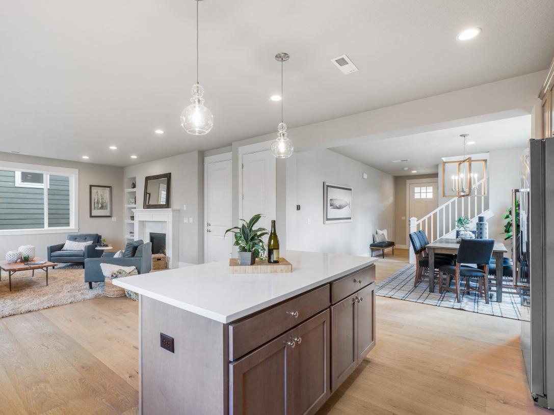 (Representative photo) Kitchen and great room
