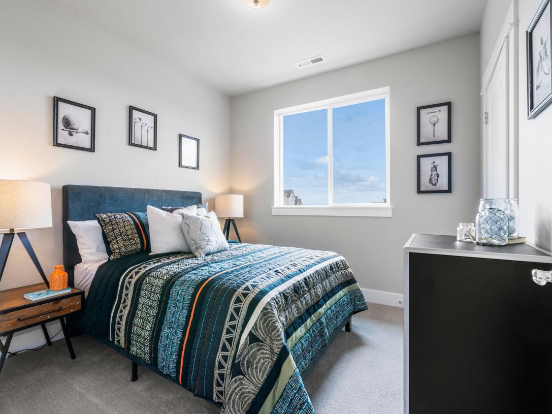 (Representative photo) Secondary bedroom