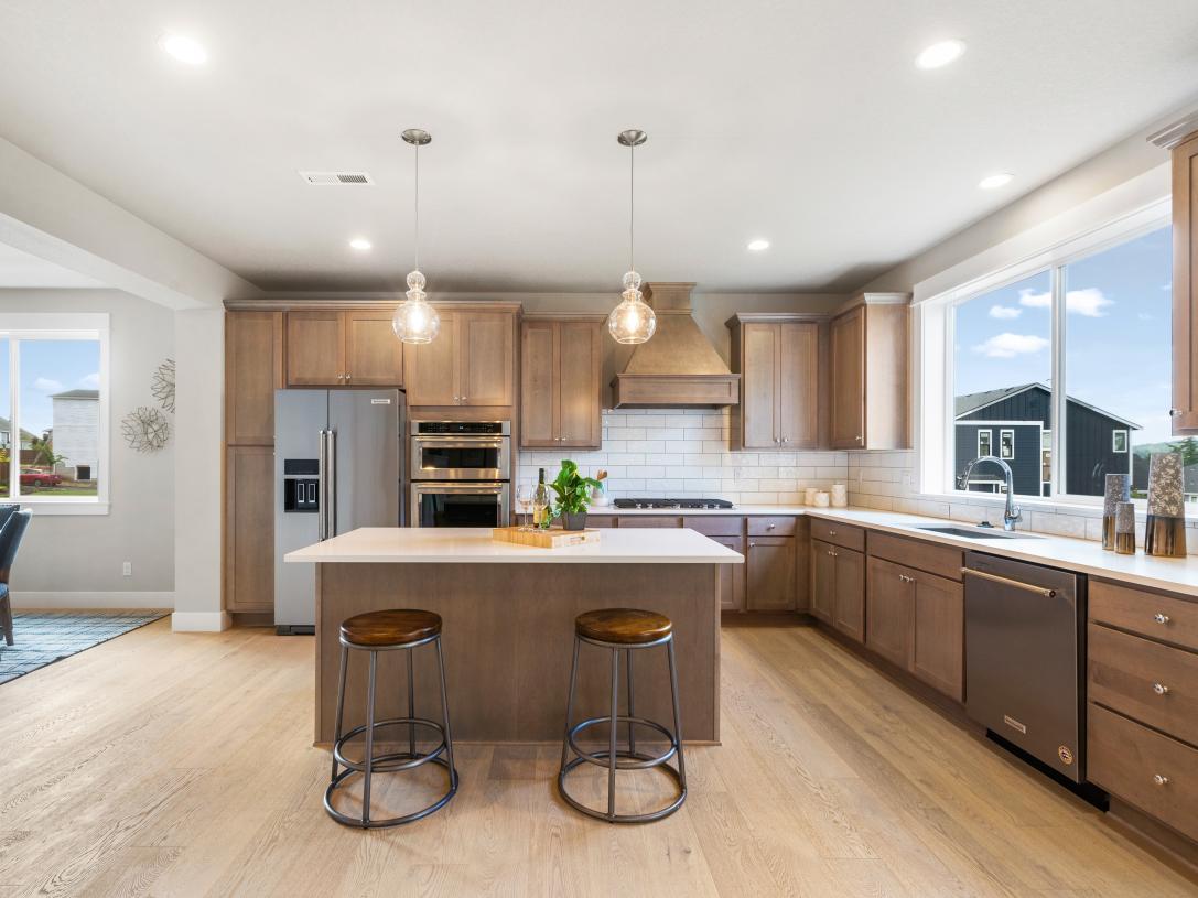 (Representative photo) Spacious kitchen