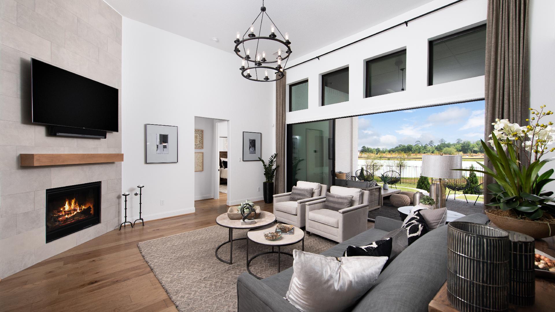 Langdon living room