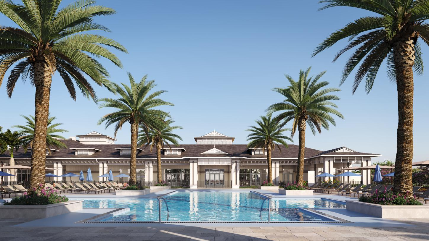 Cool off in The Lagoon, the future resort-style swimming pool