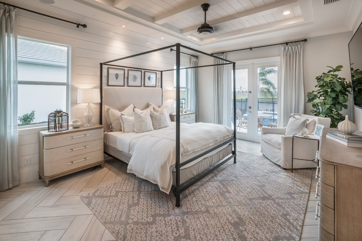 Private primary bedroom suites