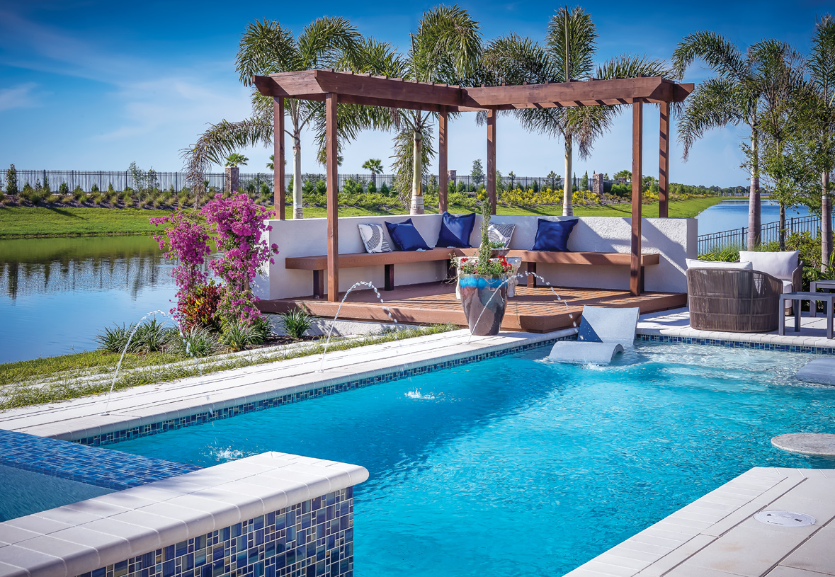 Enjoy the spectacular Florida weather in your own personal oasis