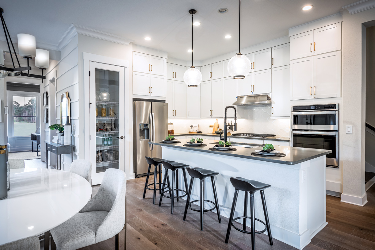 Bright and modern kitchens