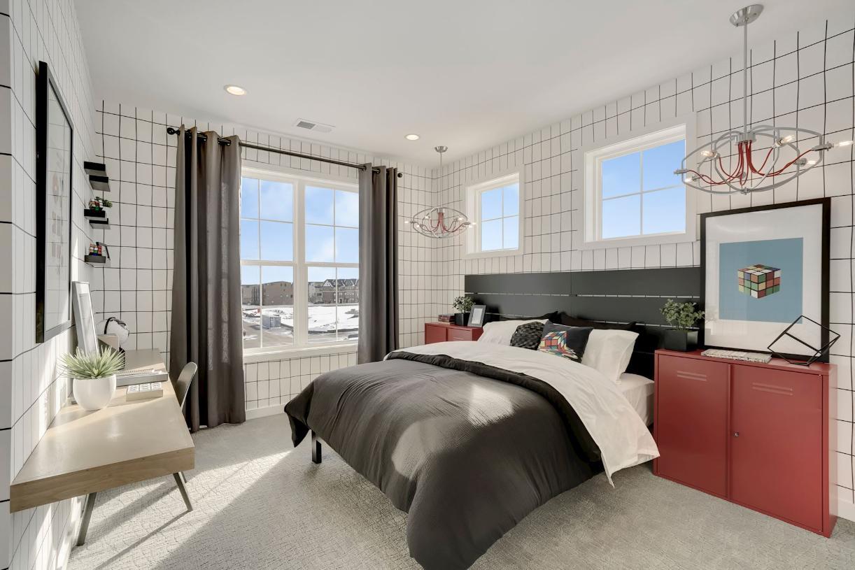 NoMa secondary bedroom