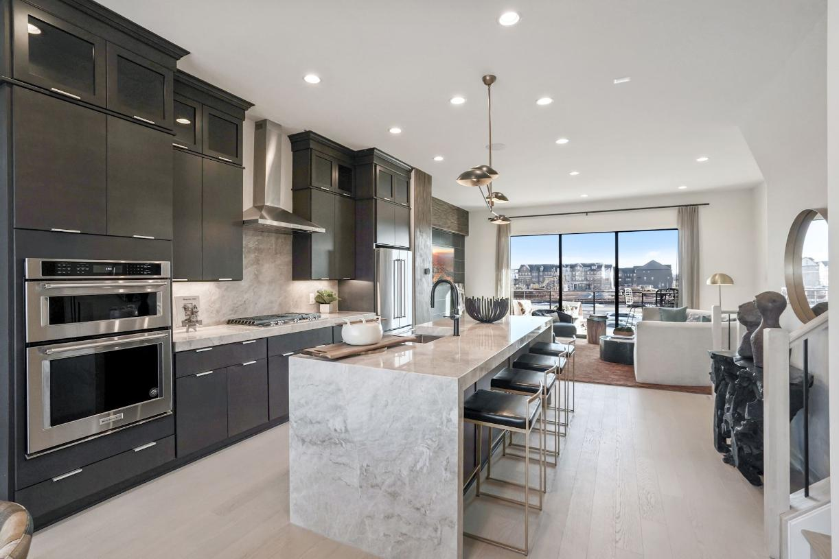 Foggy Bottom kitchen and great room