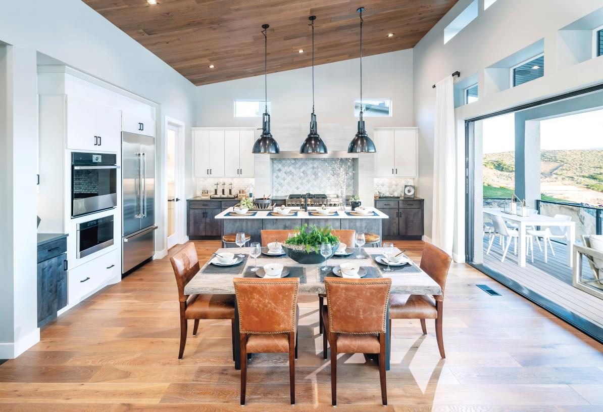 Well-equipped kitchens with casual dining areas adjacent