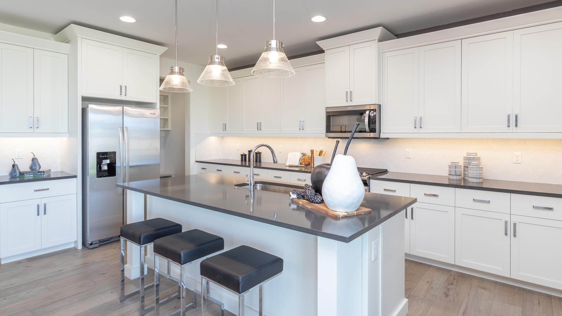 Spacious and modern kitchens