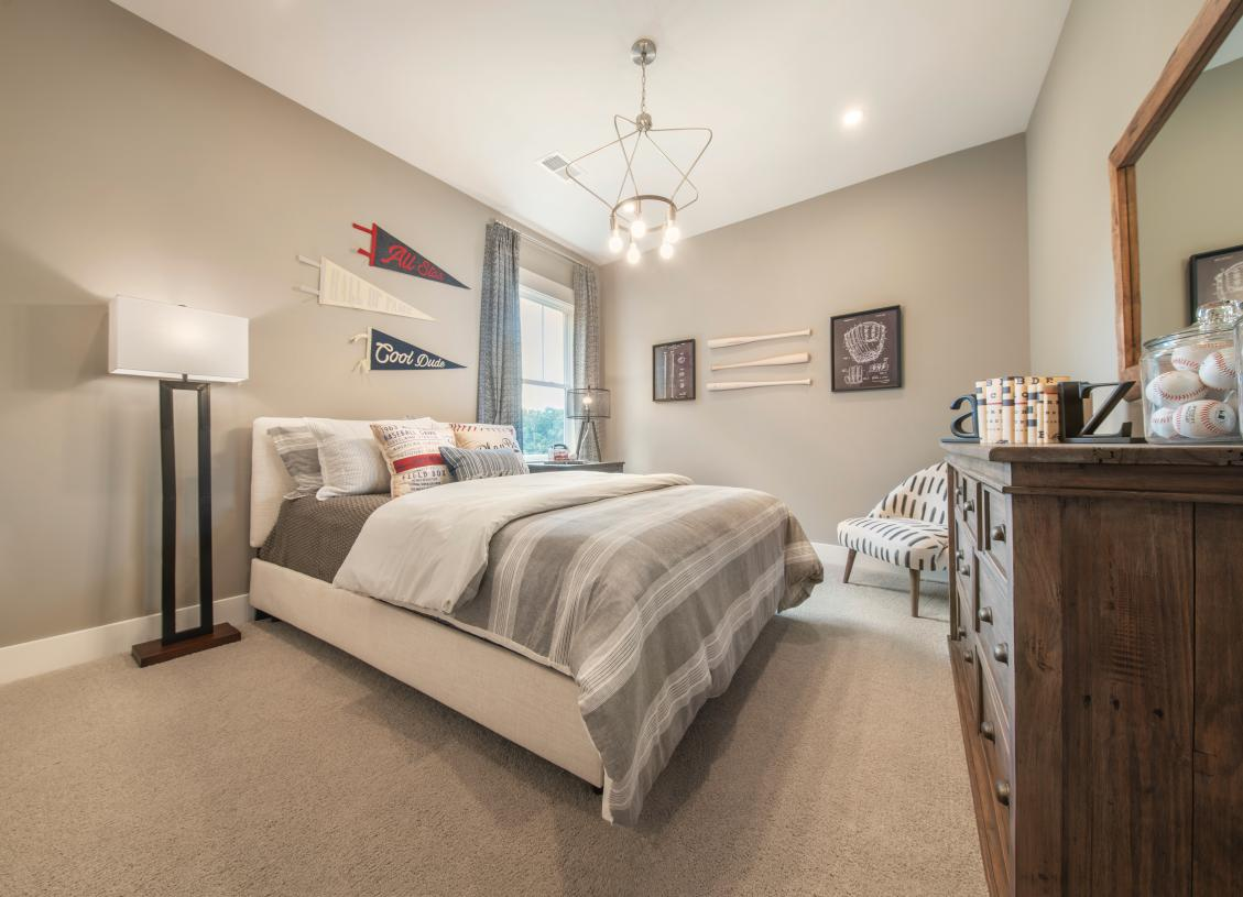 Large secondary bedroom with ample natural light