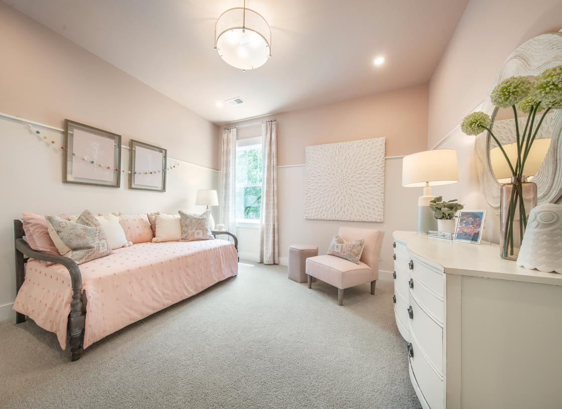 Spacious secondary bedroom with ample space