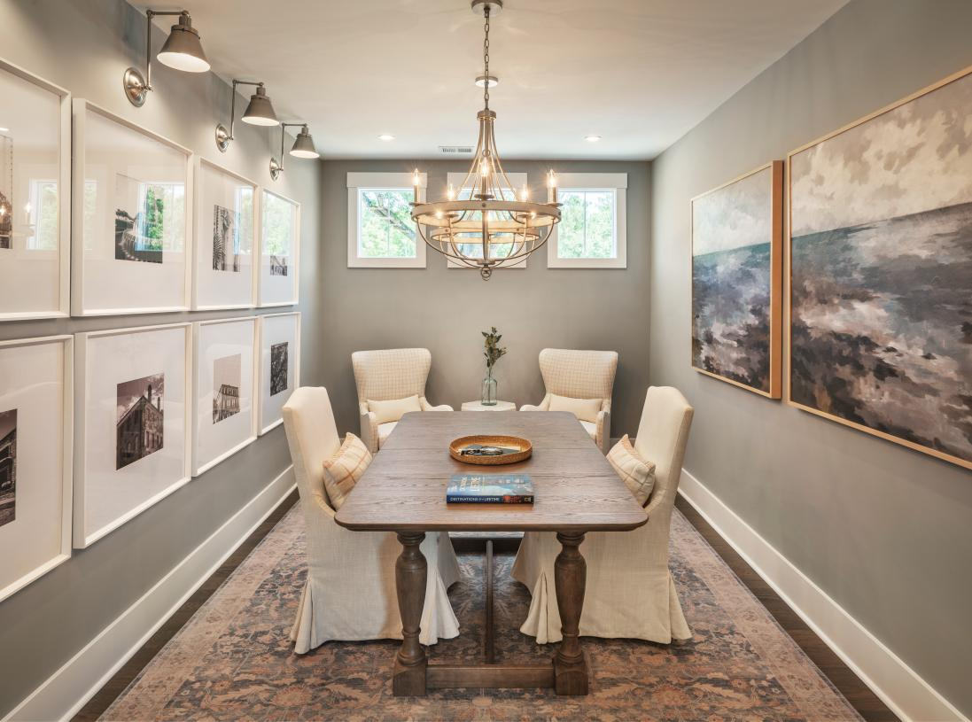 Versatile formal dining to suit your needs