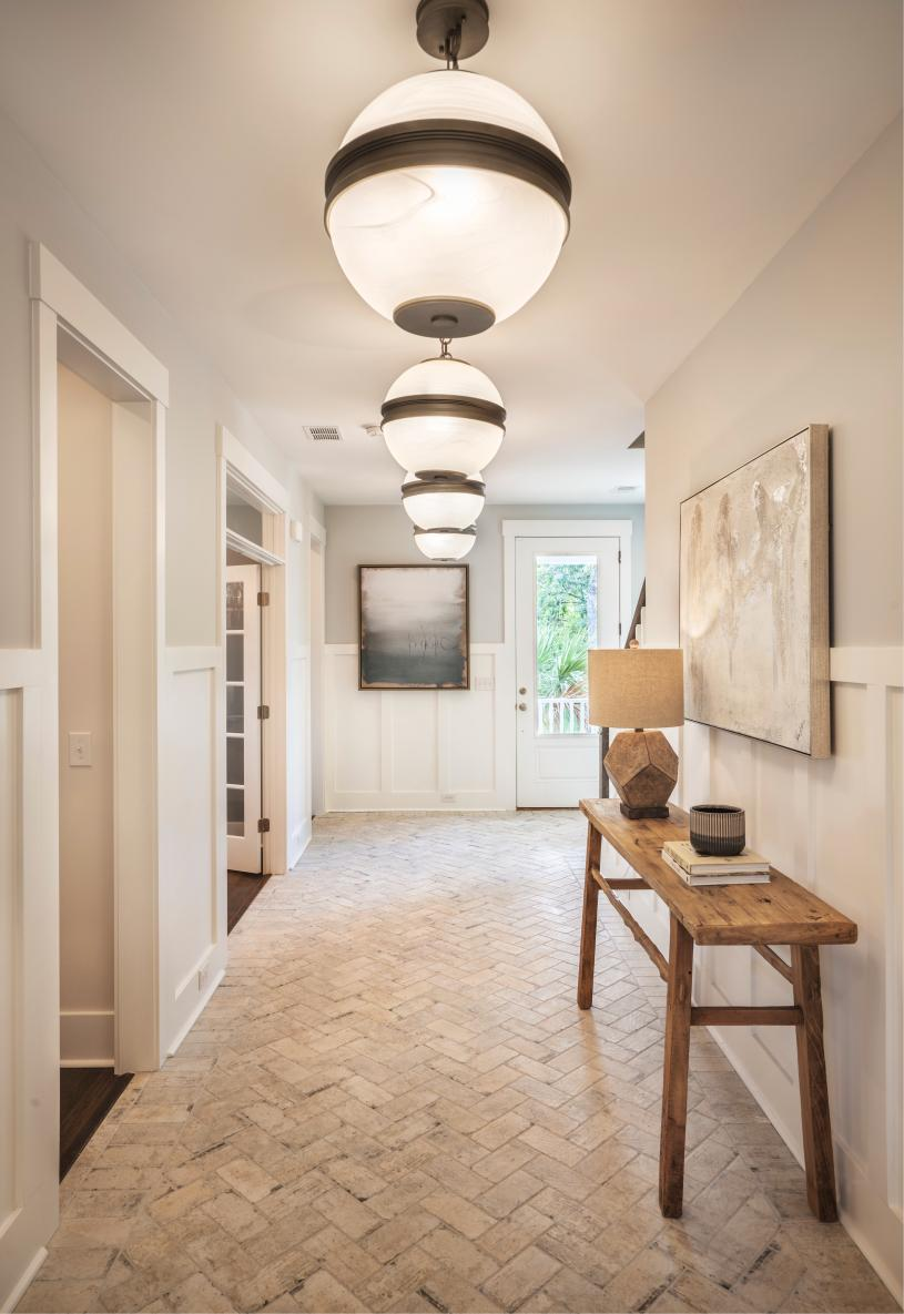 Spacious foyer leads to an open concept floor plan