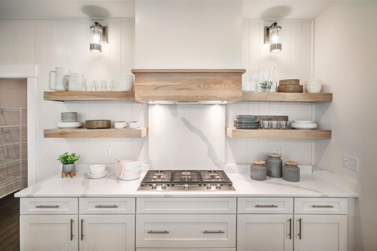 Well-equipped kitchen with beautiful features