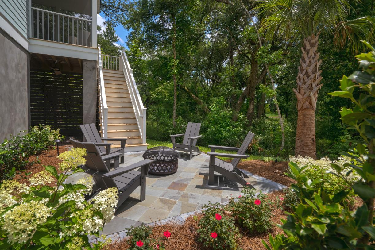 Outdoor seating area for entertaining and relaxation