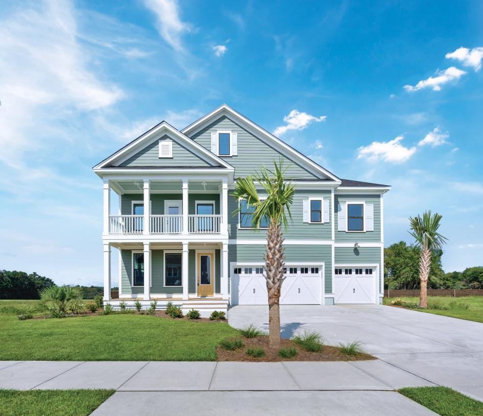Beautiful home designs with 3-car garage options