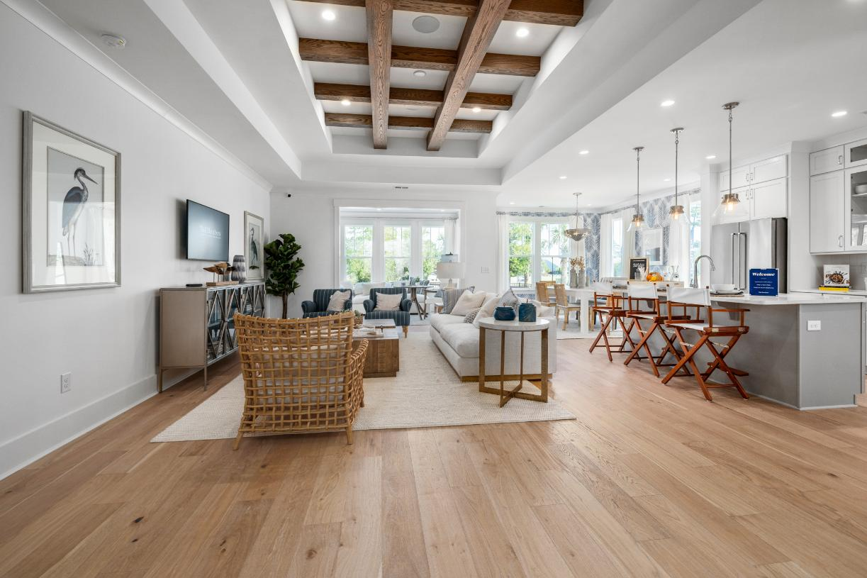 Beautiful open-concept floor plans ideal for entertaining
