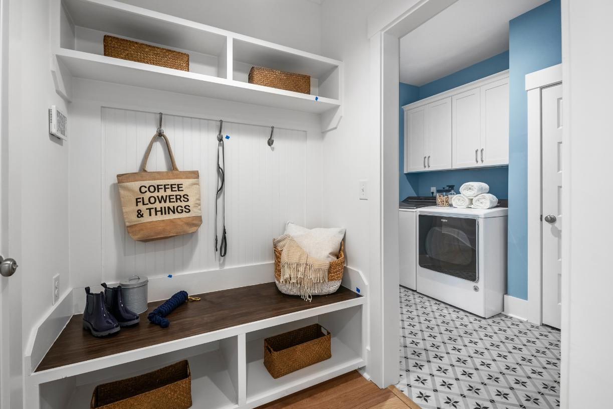 Gorgeous features and storage throughout
